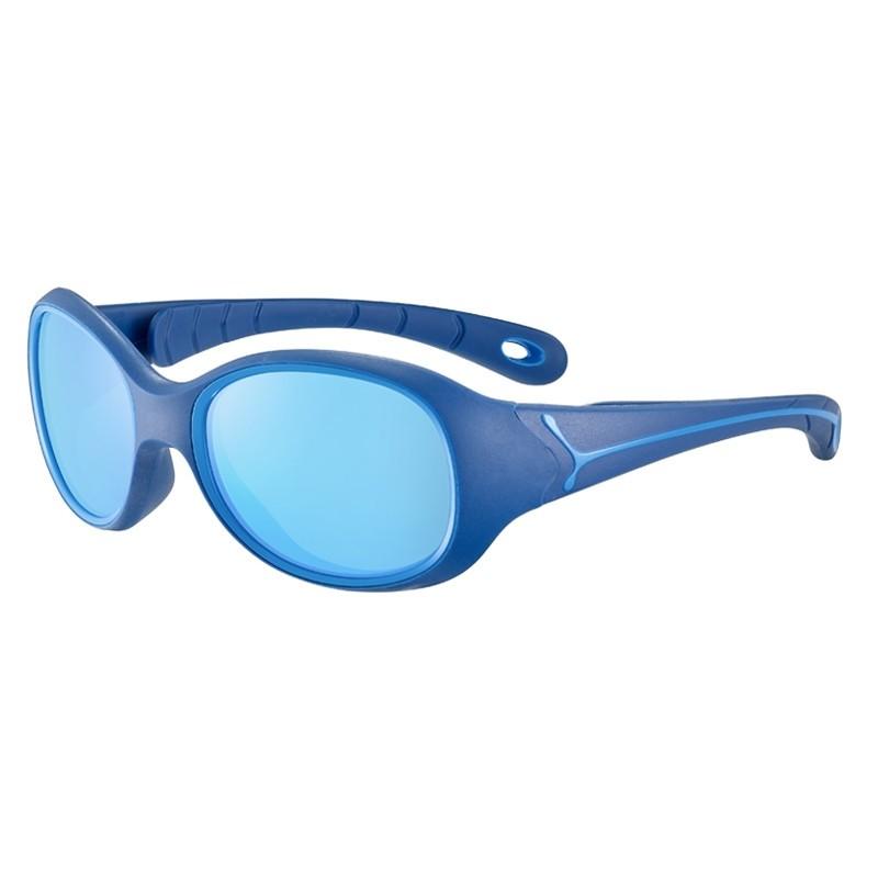 Lunettes de soleil enfant Scalibur de Cébé - Bleu marine flashé
