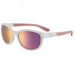 Lunette soleil enfant Cébé Katniss - Shiny White Pink - 7 - 10 ans