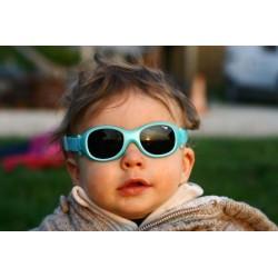 Lunettes de soleil bébé sans branche Chouka de Cébé - Framboise