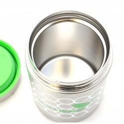 Boîte à repas isotherme bébé Organic Kidz - bulles
