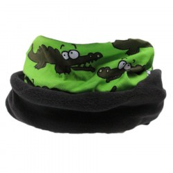 Snood garçon - crocodile