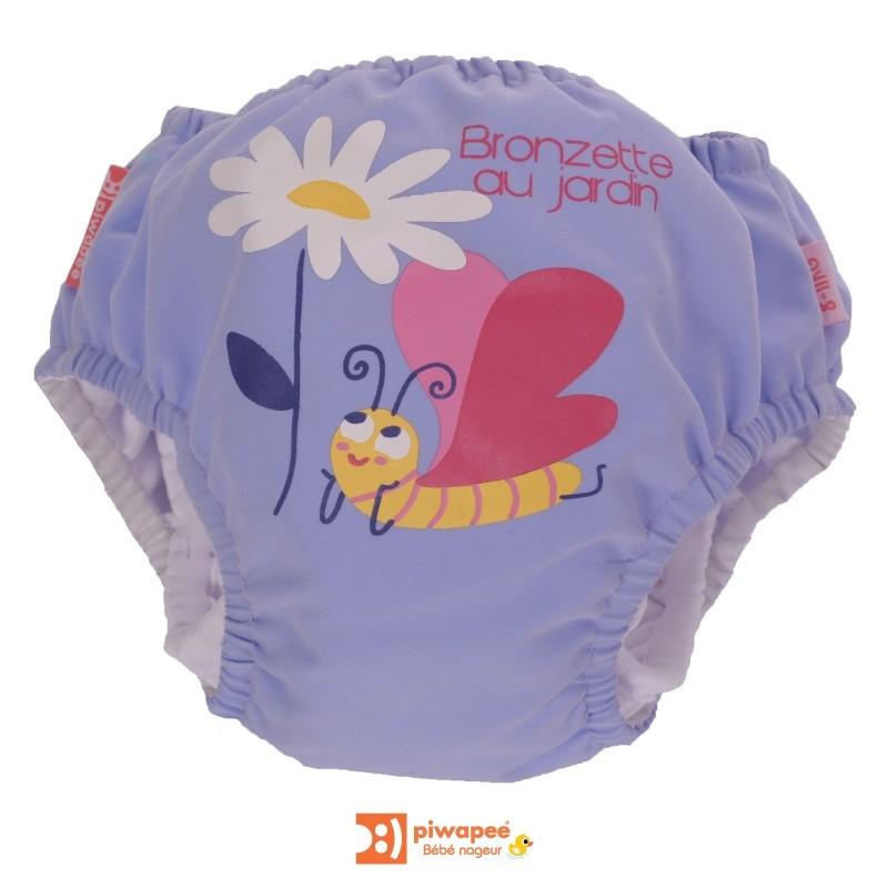 Maillot de bain couche Piwapee - Papillon