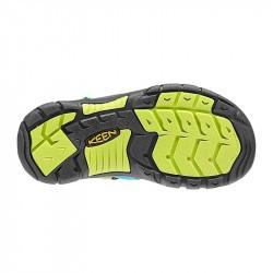 Sandales de randonnée enfant - Keen Newport H2 - Bleu-vert