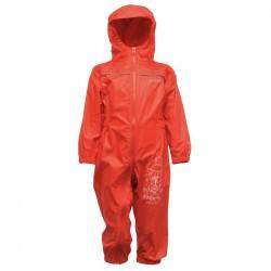 Combinaison pluie enfant - Puddle de Regatta - Rouge