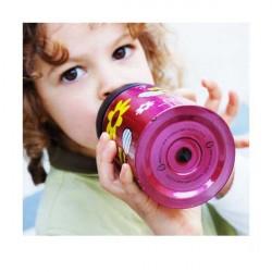 Gourde enfant isotherme anti-fuite - Gourde Ecococoon - Spring