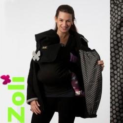 Veste de portage polaire Zoli avec capuche - Pack Trio Perle