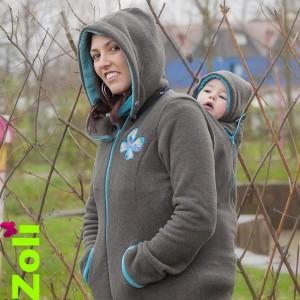 Capuchon bébé Zoli - Gris Mint