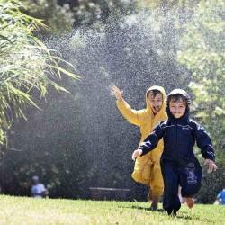 Combinaison pluie enfant - Puddle de Regatta - Bleu