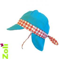 Chapeau de soleil bébé et enfant de Zoli - Bowling