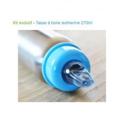 Kit Biberon-gourde évolutif Isotherme Organic Kidz