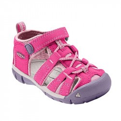 Sandales de marche bébé - Keen Seacamp - Framboise