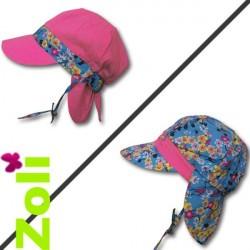 Chapeau de soleil bébé et enfant de Zoli - Pétrole
