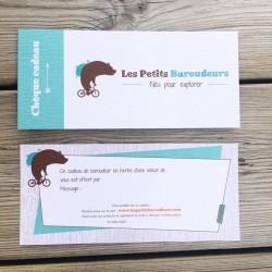 Chèque cadeau Les Petits Baroudeurs - 20 Euros