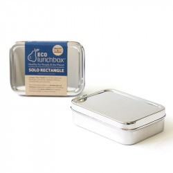 Boîte inox Solo Rectangle - ECOlunchbox