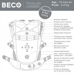 Beco Toddler - Pour grands enfants - 9 à 27kg