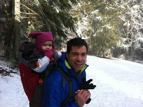 habiller bébé porte bébé hiver