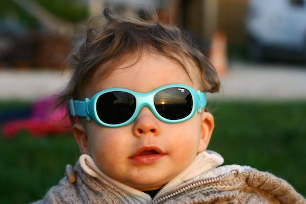lunettes soleil bébé