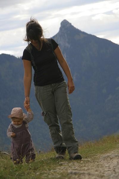Randonnée bébé altitude