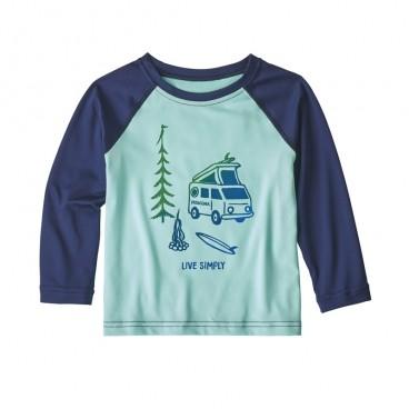 tee shirt à manche longue anti-UV pour les enfants