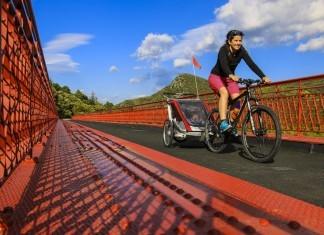 Voie verte du Haut Languedoc en vélo
