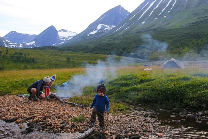 Bivouac-Famille-Norvege
