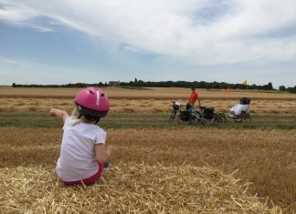 Voyage en velo en famille Graines de Baroudeurs