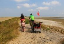 Velo Camargue avec des enfants