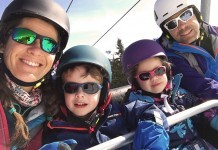 Skier en famille, le pied !