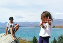 Roadtrip en famile en NZ