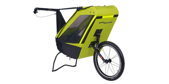 remorque vélo enfant tout terrain single trailer