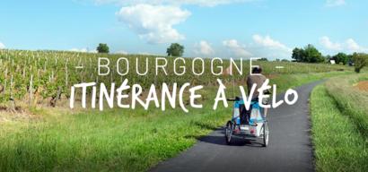 Itinérance à vélo en famille en Bourgogne