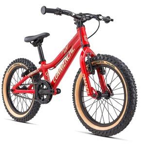 vélo VTT commençal rouge
