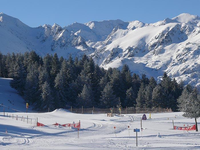 le plateau de Beille dans les Pyrénées : station nordique