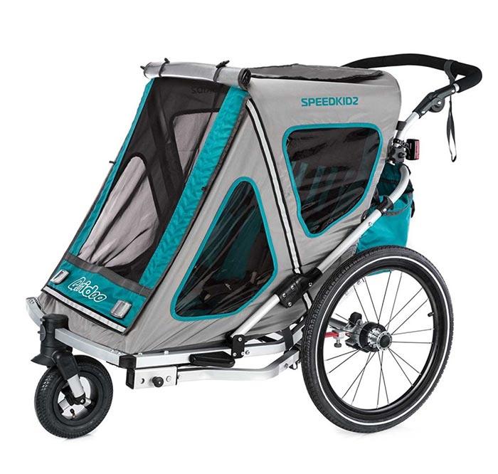 remorque vélo enfant Qeridoo Speedkid2