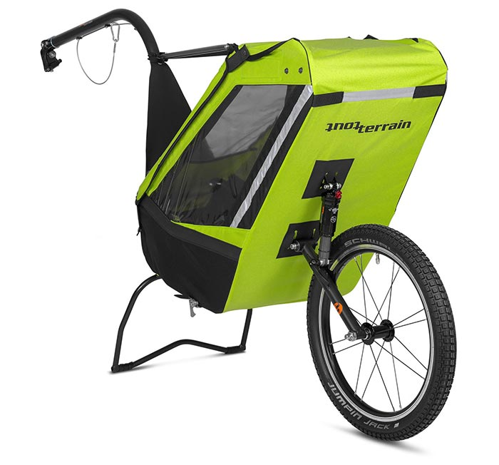 remorque vélo enfant Tout-Terrain Singletrailer