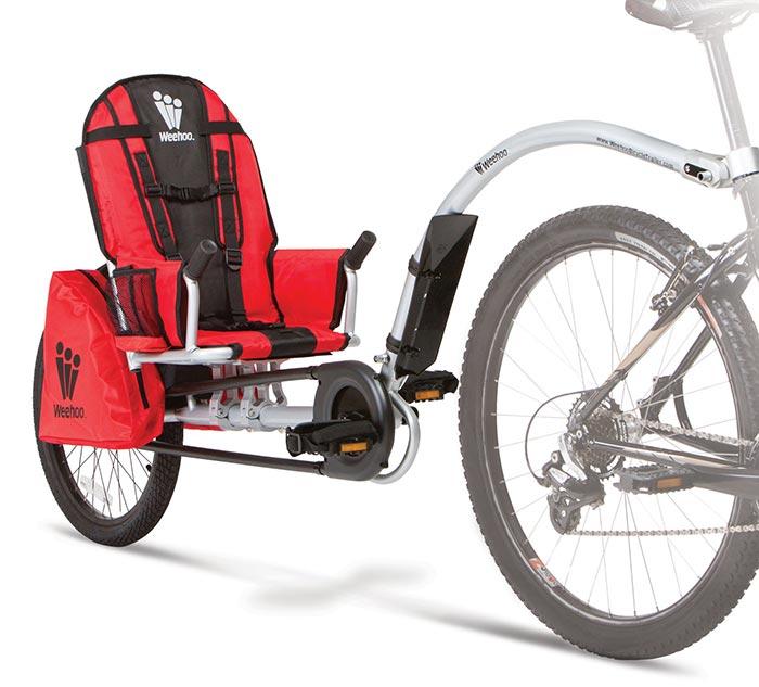remorque vélo enfant weehoo igo turbo