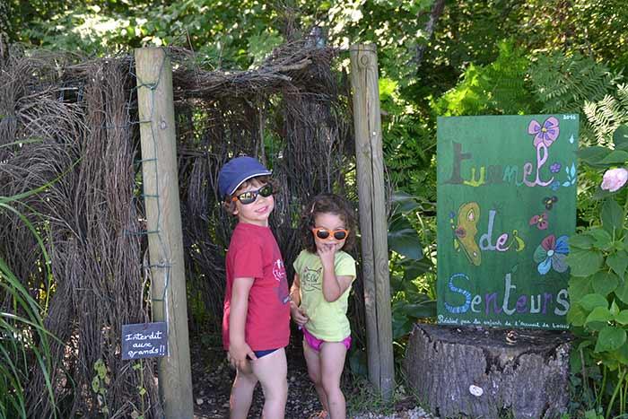 jeu pour les enfants au camping