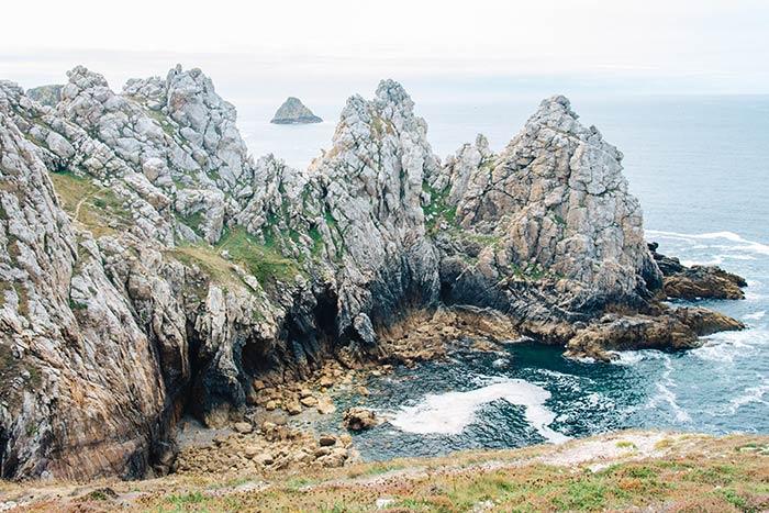 vue du site du Tas de Pois en Bretagne