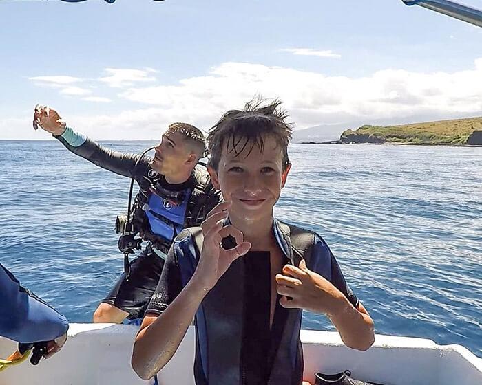 plongée sous-marine en famille à la Réunion