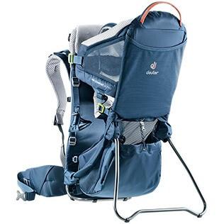 sac à dos porte bébé de randonnée deuter kid comfort active vu de trois quarts