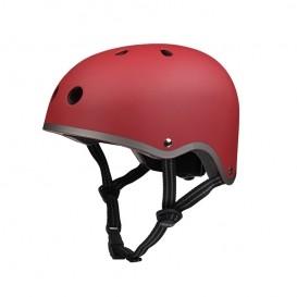 casque de vélo enfant rouge
