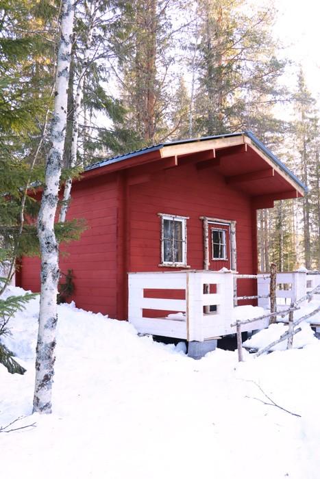Cabane Laponie Suédoise