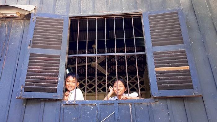 Le sourire radieux des enfants de l'école Pour un Sourire d'Enfant