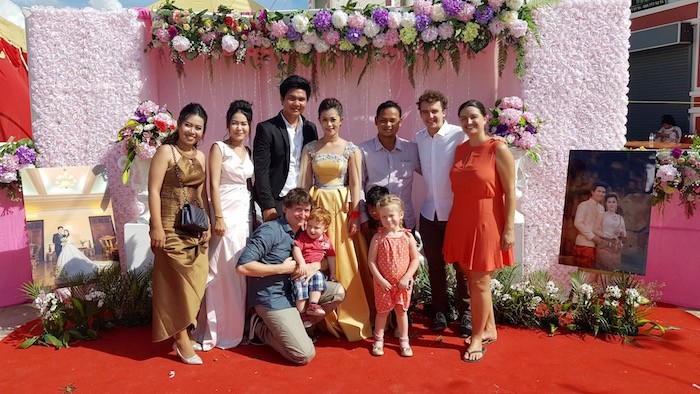 mariage cambodge famille