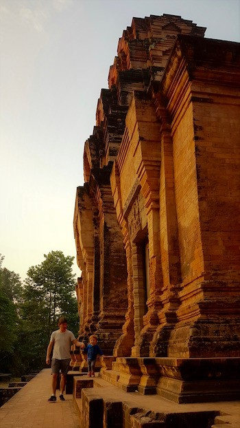 temple angkor aube cambodge en famille