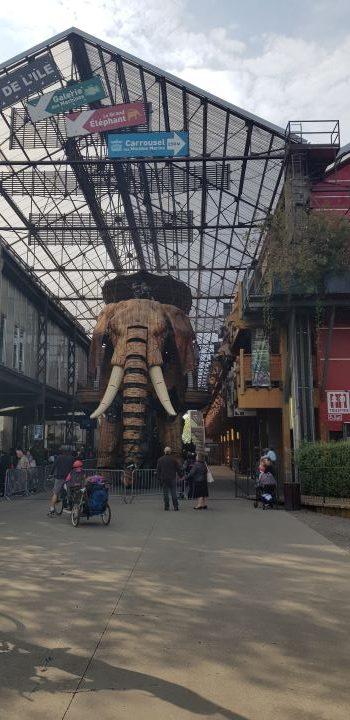 elephant à l'ile des machines de Brévannes