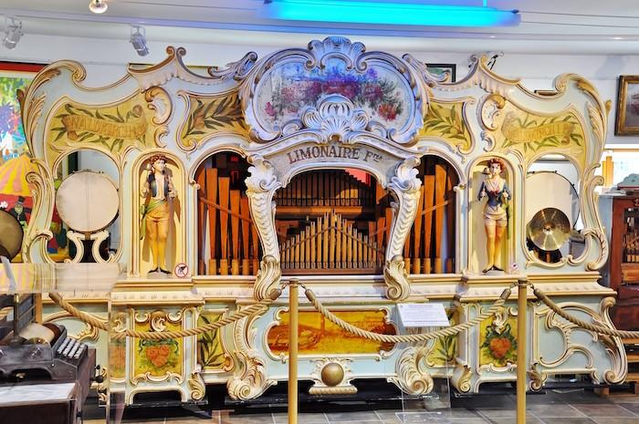 Orgue musée de la musique mécanique des Gets
