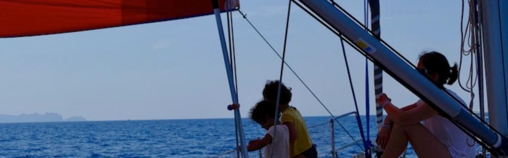 Croisière en voilier en famille entre l'Italie et la Corse