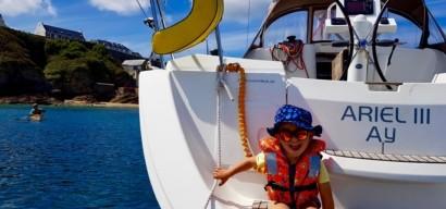 Partir en voilier en famille : deux semaines dans le golfe du Morbihan