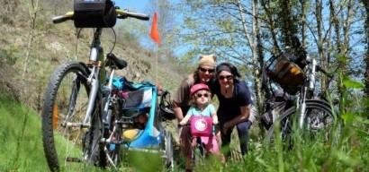 La Dolce Via en vélo (et draisienne) et en famille